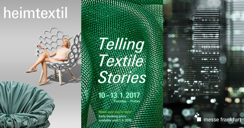 Heimtextil 2017 Martina Home by Enguitex