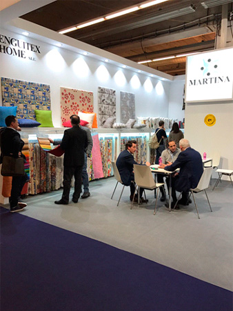 HEIMTEXTIL 2017, Martina home, 2